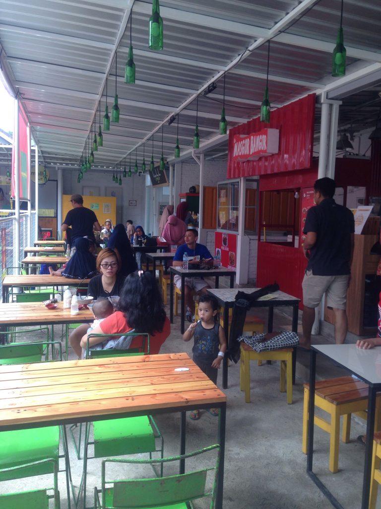 Salah sudut Taman Jajan Fatahilah Malang