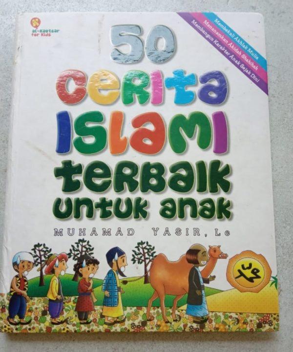 Buku Cerita Islami Bergambar - 50 Cerita Islami Terbaik untuk anak