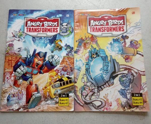 Buku Komik - Angry Birds Transformers (2 buku)