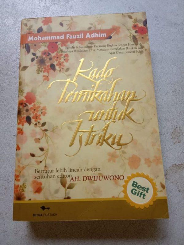 Buku Islami - Kado Pernikahan untuk Istriku