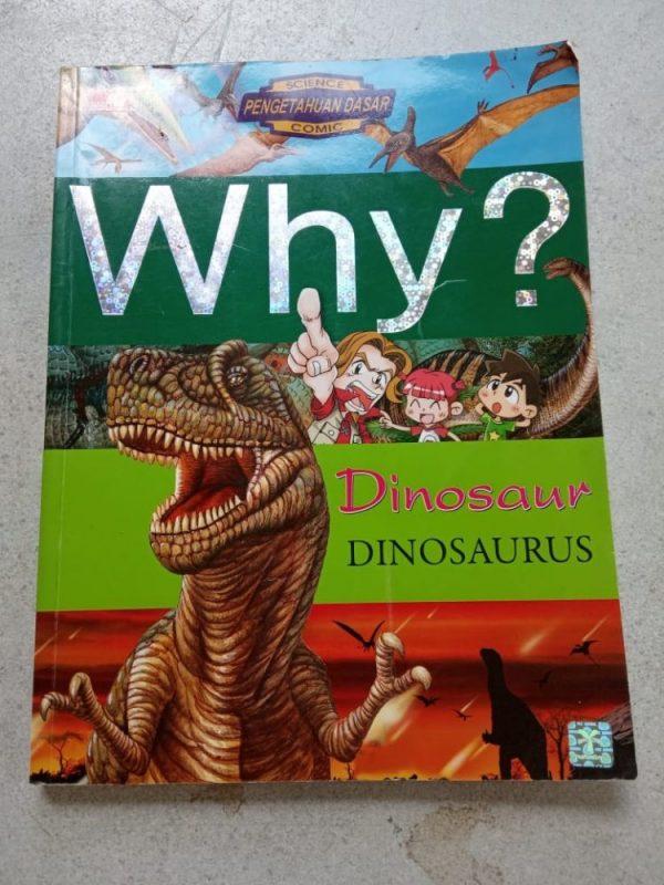 Buku Komik - Why? Dinosaurus