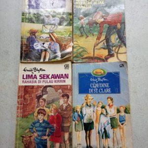 Cerita Novel - Enid Blyton (4 buku)