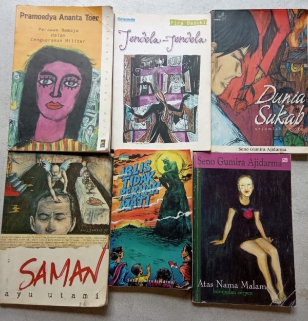 Cerita Novel - Seno Gumira, Ayu Utami, Pramoedya Ananta Toer dan Fira Basuki